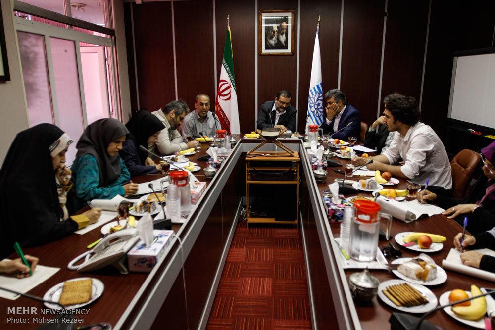 نشست رئیس مرکز صبا با اصحاب رسانه