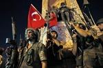 بازداشت ۳۵ هزار نفر از زمان کودتای ترکیه
