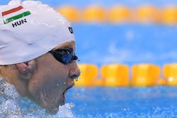 Iran's Rio swimmer