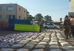 1.1 tons of illicit drugs seized in SE Iran