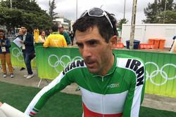 'Ghader Mizbani' ranks 31st in Rio time trial