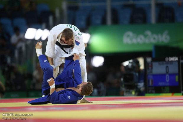 Iran's judoka lost to his Russian rival at Rio 2016