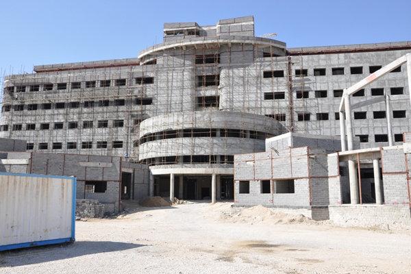 ۸۰ درصد از تجهیزات بیمارستان جدید یاسوج خریداری و نصب شده است