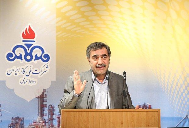 تولید گاز ایران به ۱۰۰۰میلیارد متر مکعب در روز خواهد رسید
