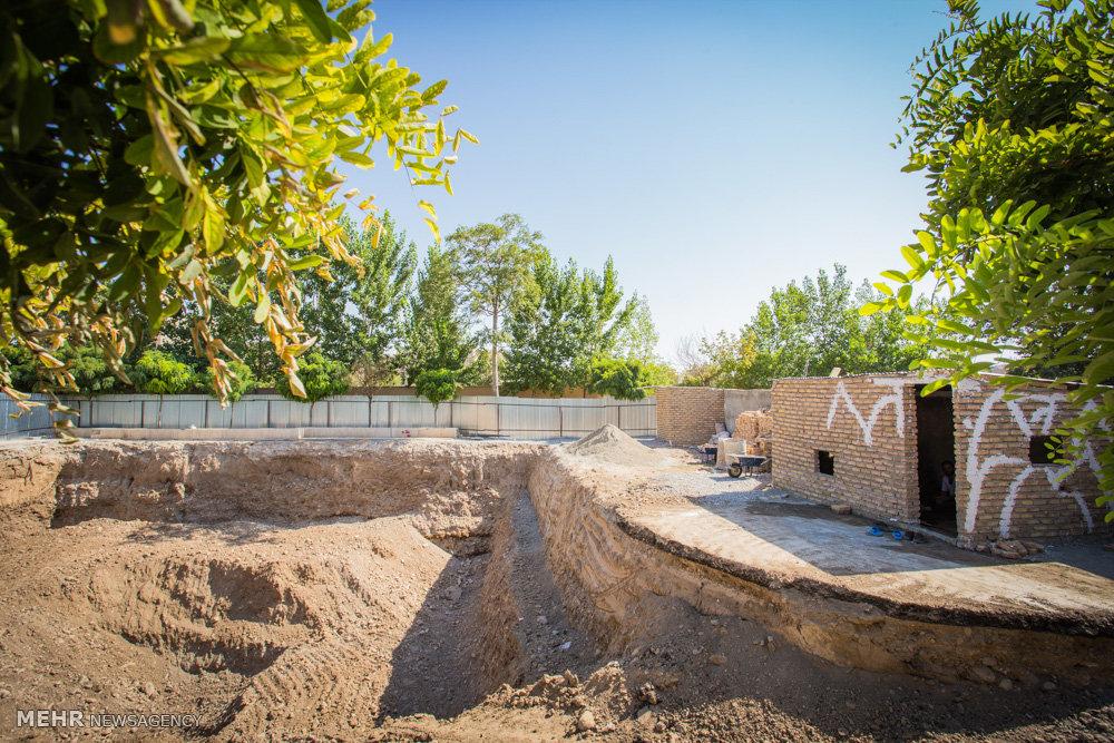تخریب پارک تاجیکستان در استان البرز