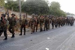 شاهد تصدّي الجيش السّوري لهجوم المسلحين في درعا/فيديو