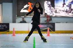 Marshal Cup Skating held in Tehran