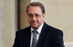 Putin's envoy due in Tehran on Mon.