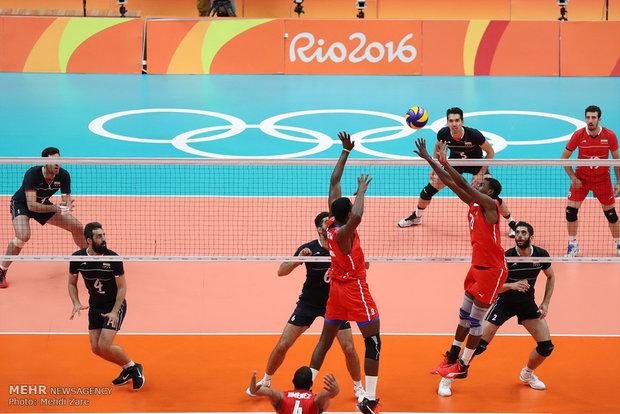 Iran volleyball team defeats Cuba at Rio