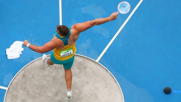 Iranian discus thrower crowned at Asian c'ships