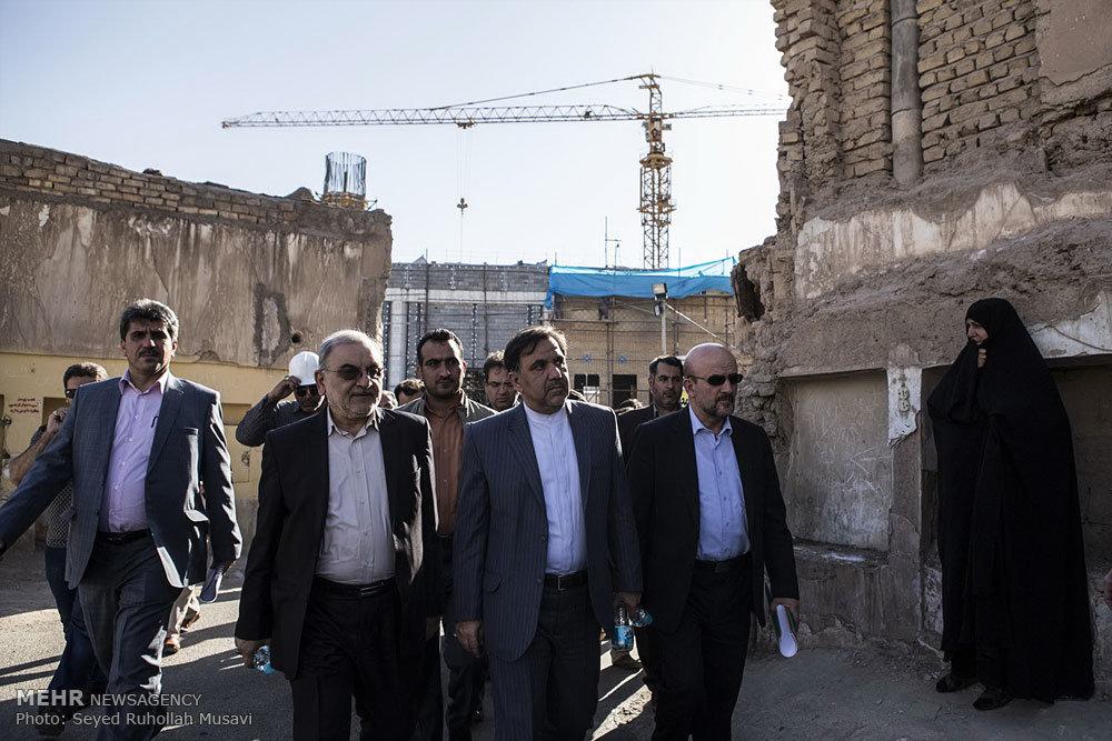سفر وزیر راه و شهرسازی به قم