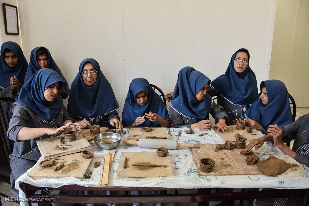 کارگاه ساخت سفال در شهرضا اصفهان