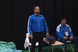 کیانوش رستمی عضو تیم ملی وزنه برداری ایران