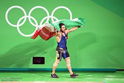 ذهبية ايران في رفع الاثقال في دورة الالعاب الاولمبية ريو 2016