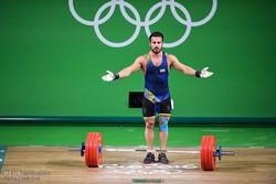 کیانوش رستمی وزنهبرداری دسته ۸۵ کیلوگرم المپیک