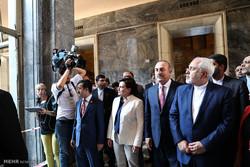 Video: Zarif visits Grand National Assembly in Ankara