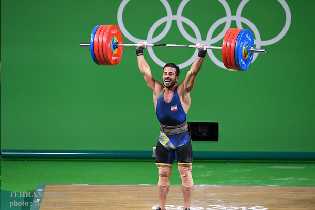 Weightlifter Kianoush Rostami ends Iran's medal drought