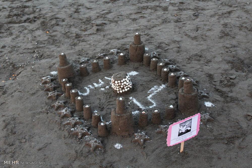 جشنواره روز دریای خزر در ساحل رودسر