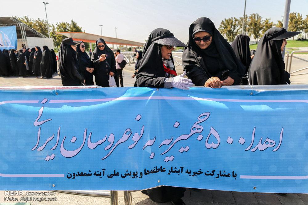 کاروان 500 جهیزیه به نو عروسان ایرانی