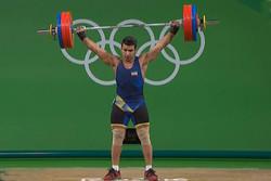 هاشمی نایب قهرمان دسته ۱۰۵ کیلوگرم مسابقات وزنه برداری شد