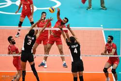 تیم ملی والیبال ایران حریفان خود را شناخت
