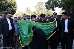 حضور کاروان خادمان رضوی در تهران