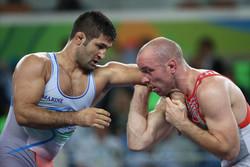 """المصارع الإيراني """"سعيد عبدولي"""" يتإهل لنصف نهائي بطولة العالم للمصارعة الرومانية"""