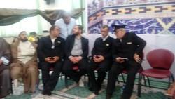 کاروان زیر سایه خورشید وارد شهر محمدیه قزوین شد