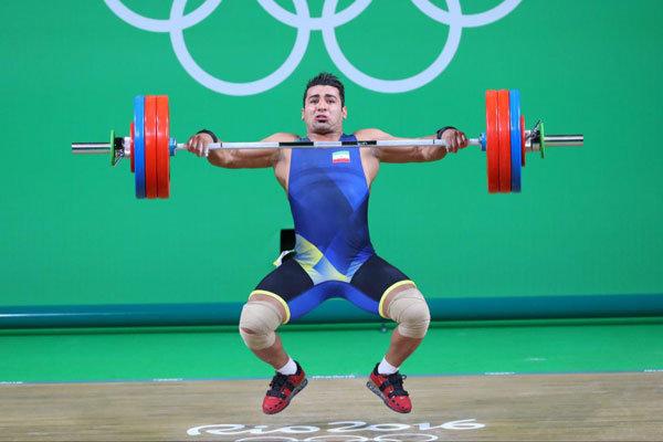 دورخیز علی هاشمی برای کسب سهمیه وزنهبرداری در المپیک