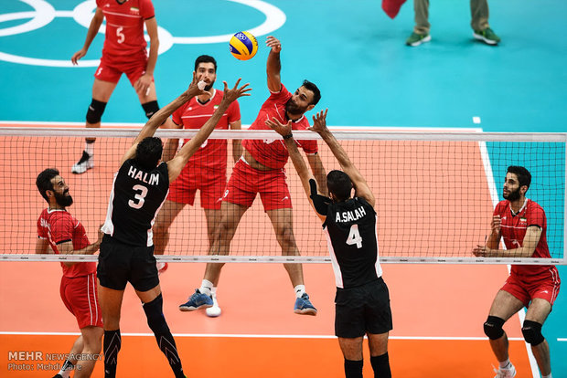 Iran vs Egypt highlights at Rio 2016