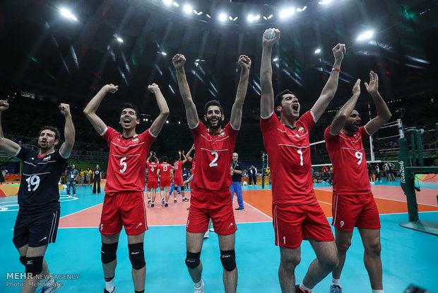 Iran climbs to 7th place in FIVB World Ranking