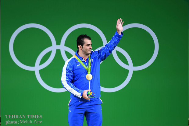 Sohrab Moradi wins gold at Olympics weightlifting