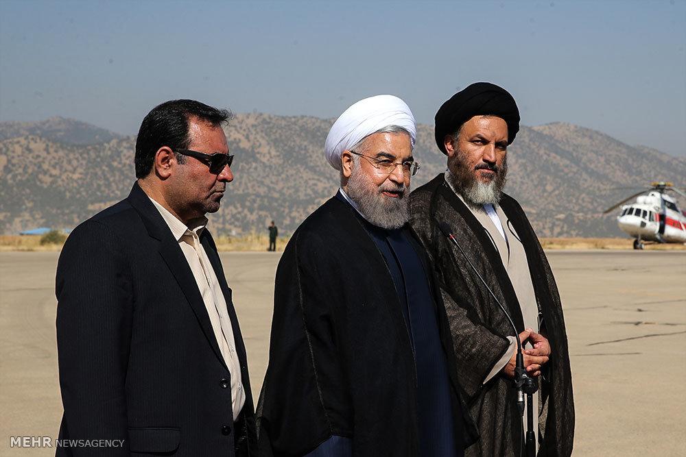 سفر استانی رئیس جمهور به یاسوج -1