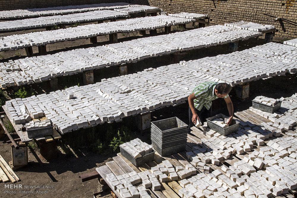 کارگاه تولید صابون