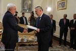 دیدار سفیر جدید بلاروس در تهران با وزیر امورخارجه
