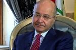 برهم صالح: لا ننسى دعم إيران للعراق في الحرب ضد الإرهاب