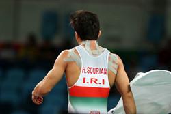 حمید سوریان - کشتی فرنگی