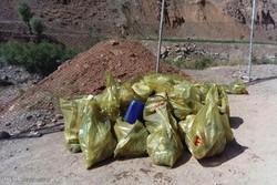 برنامه پاک سازی طبیعت در شهرستان لردگان برگزار شد