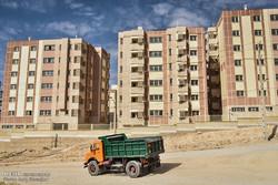 کلنگ احداث ۱۲۰۰ واحد مسکونی در بهارستان بر زمین خورد