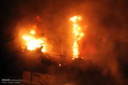 معتادان عامل آتش سوزی در مسکن مهر پرند بودند