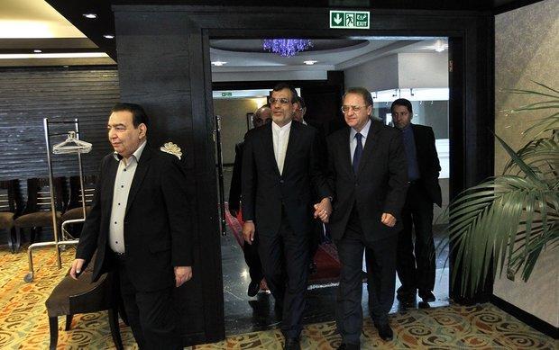 Jaberi Ansari meets Russian president's envoy in Tehran