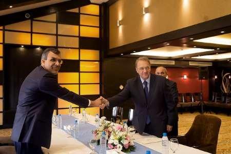 Jaberi Ansari, Bogdanov confer on Astana Syrian talks