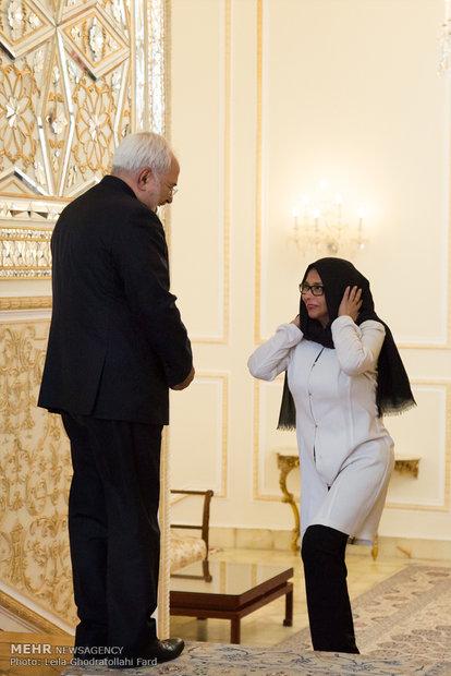 دیدار وزیر امور خارجه ونزوئلا باوزیر امورخارجه ایران