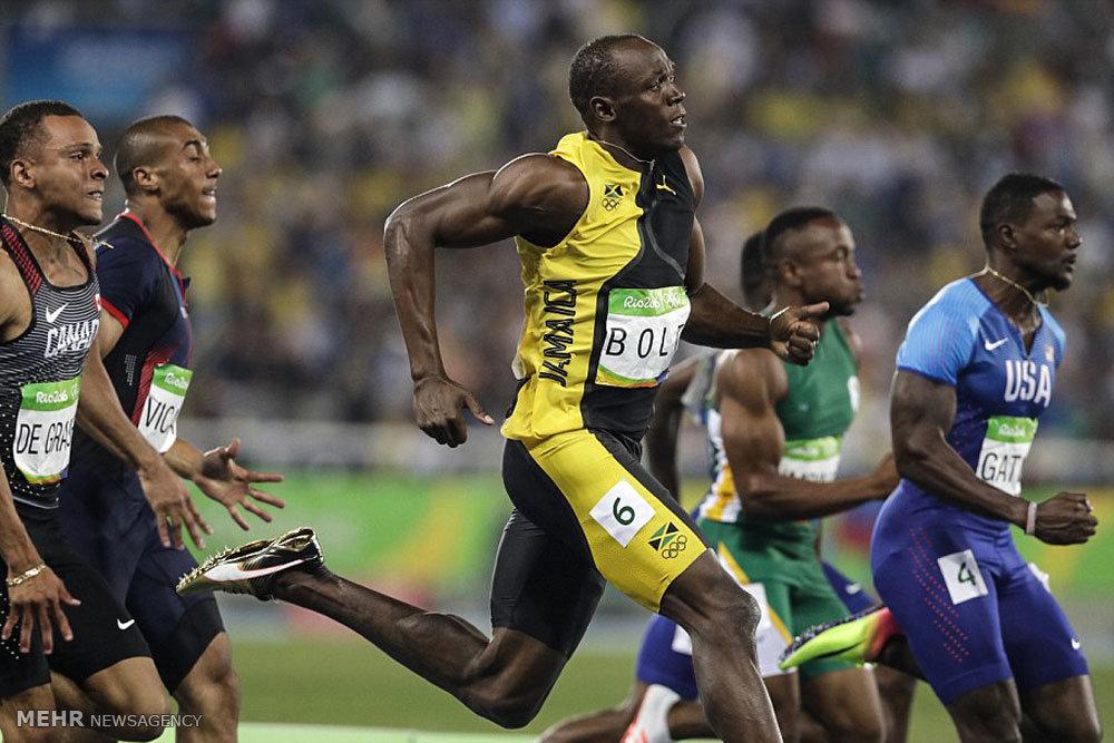 مسابقات دوی 100 متر المپیک