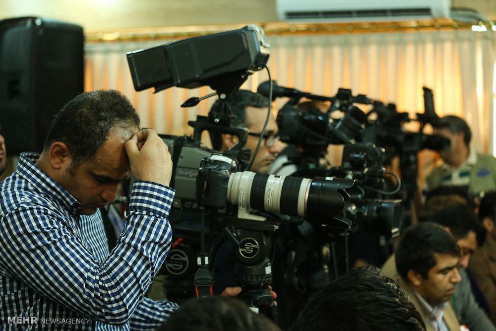 نشست خبری ریس جمهور با اصحاب رسانه