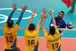 شگفتی در والیبال المپیک/ فرانسه از صعود به جمع هشت تیم برتر باز ماند
