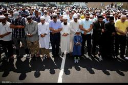 تشییع جنازه امام جماعت مسجد نیویورک