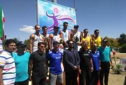 تیم هتل کانیار علیآباد نایب قهرمان مسابقات والیبال ساحلی کشور شد