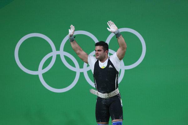 محمدرضا براری - وزنه برداری - المپیک ریو