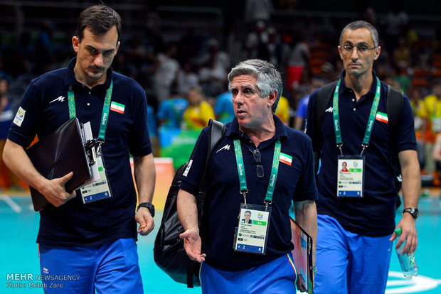 رائول لوزانو سرمربی تیم  والیبال ایران